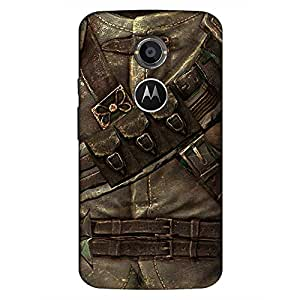 Mobo Monkey Designer Printed Back Case Cover for Motorola Moto X2 :: Motorola Moto X (2nd Gen) (Jacket :: Armour :: Retro :: Metallic :: Vintage)