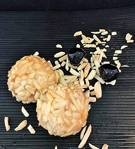 Amaretti Morbidi Amarena Kirsche - frisch & handwerklich hergestellt - außen knackig und innen weich - Italienisches Mandelgebäck - Marzipangebäck - 500g - 10-11 Stück