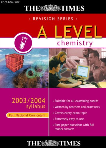 The Times A Level Chemistry 2003/2004 Syllabus (Full National Curriculum) Test