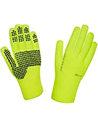 SealSkinz Waterproof Ultra Grip Hi Vis Outdoor Gloves
