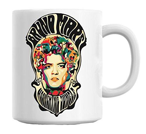 Bruno Mars Jungle Illustration Mug Cup (Unorthodox Jukebox-vinyl)