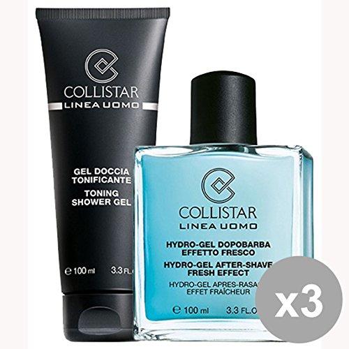 Set 3 COLLISTAR Kit Dopo Barba HYDRO-Gel+Doccia 100 Ml. 28448 Prodotti per Barba