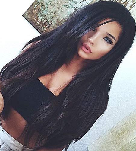 Ugeat 16 Pollici Remi Human Hair Weave #1b Noir Se...