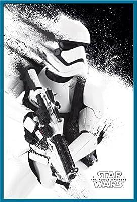 Empire Poster Star Wars EP7Poster Stormtrooper + accessoires articles de fixationsupplémentaires