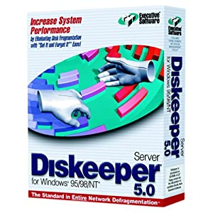 Diskeeper 5.0 Server for Windows 95/98/NT (Windows 2000 update information available)