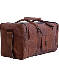 NeoFeral 100% Original Leather Gym Bag, Travel Duffel Bags For Men/Women/Girls/unisex Craft 64