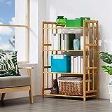 ZWJLIZI Küchenablage Regal Regalregal Ablagefach Household Bamboo 4th Floor (größe : 70cm)