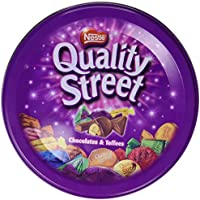 Nestlé Quality street - Bombones de Toffee Recubiertos de Chocolate - 480 g