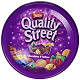 Best chocolates - Nestlé Quality street - Bombones de Toffee Recubiertos Review