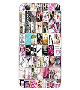 PrintDhaba Different Images D-5580 Back Case Cover for LENOVO A6020a46 (Multi-Coloured)