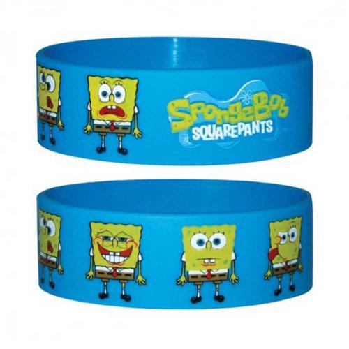 bob-esponja-faces-pulsera-de-silicona-para-coleccionistas-wristbands-de-24-x-65-x-1-mm-extensible