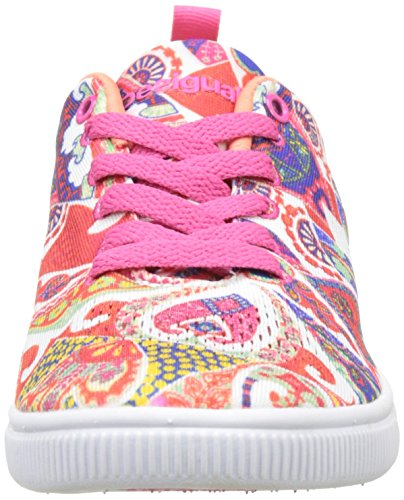 Desigual Camden Hearts, Sneakers Basses Femme Blanc (White 1000)