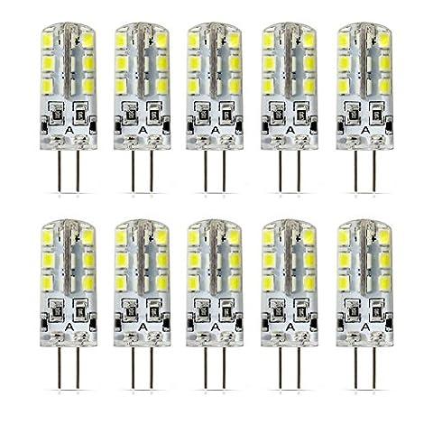 AWE-LIGHT 10x G4 LED Ampoule 2W 210LM 5000K DC12V, Angle