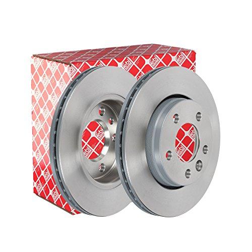 Preisvergleich Produktbild febi bilstein 28682 Bremsscheibensatz (2 Bremsscheiben) hinten,  innenbelüftet,  Lochanzahl 5