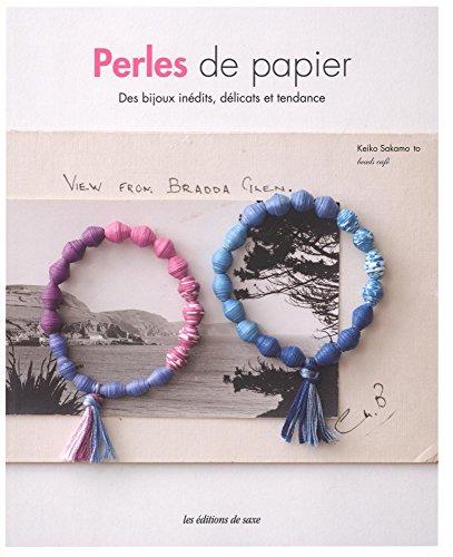 Perles de papier : Des bijoux inédits, délicats et tendances