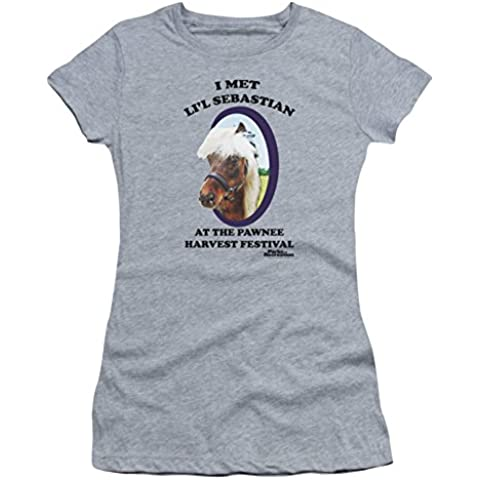 Parks & Recreation – Lil Sebastian Juniors Camiseta en Heather