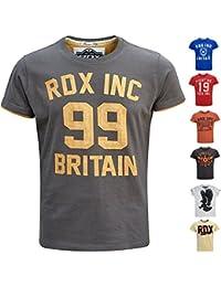 RDX Coton Sport T Shirt d'entraînement Manches Courtes Tee Fitness Running Gym Musculation Jogging