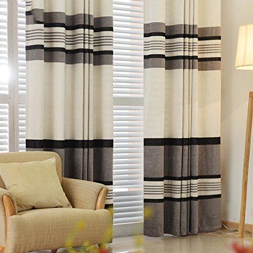 tende-a-righe-bianchi-e-nero-minimaliste-mezza-luce-soggiorno-teli-a-150x270cm59x106inch