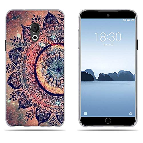 DIKAS Hülle Meizu 15 Lite/ M15, Slim Fit Shockproof Flexible 3D Contemporary Chic Design Ultra Thin Lightest Einfach Grip Durable Flex für Meizu 15 Lite/ M15 (5.46