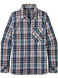 Patagonia W 'S L/S Havasu Shirt, Damen L wawona Plaid Classic Navy