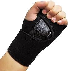 jiaqinsheng Sport Waren Handgelenkstütze Karpaltunnel Schiene Arthritis Verstauchungen Zugentlastung Korsett Band (Linke Hand)