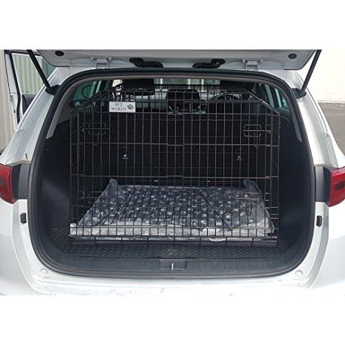 PetWorld New KIA Sportage 2016+ Arrows Hunde-Transportkäfig Travel Box Puppy