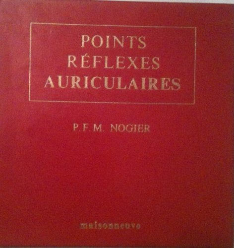 POINTS REFLEXES AURICULAIRES