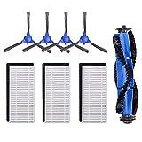 Subtop Accessori di Ricambio per Eufy Robovoc 11s RoboVac 30 RoboVac 30C RoboVac 15C Robot Aspirapolvere Pezzi di ricambio di Spazzola rotante, filtri, spazzole laterali
