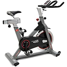 Techness biking 400 - Bicicleta indoor con rueda de inercia de 22 kg