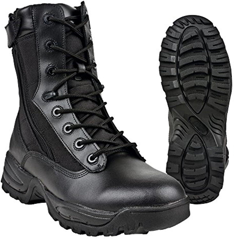 Tactical Boots Two Zipper schwarz  Billig und erschwinglich Im Verkauf