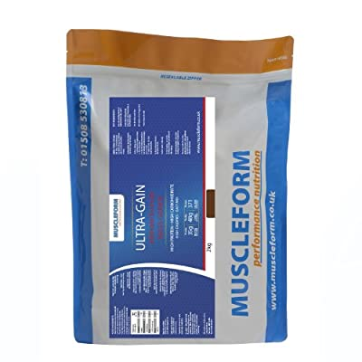 ULTRA-GAIN Mass Gain & Weight Gain Powder 2kg Re-Sealable Pouch - Fast Delivery from Muscleform