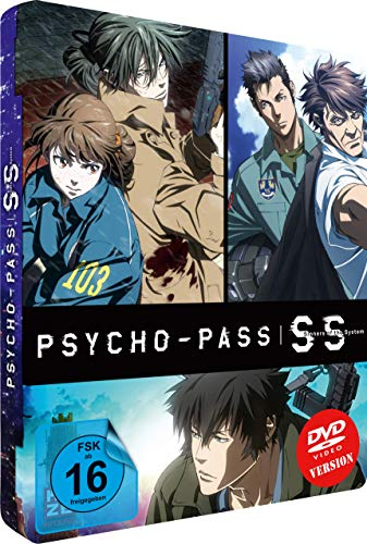 Psycho-Pass: Sinners of the System - (3 Movies) - Steelcase