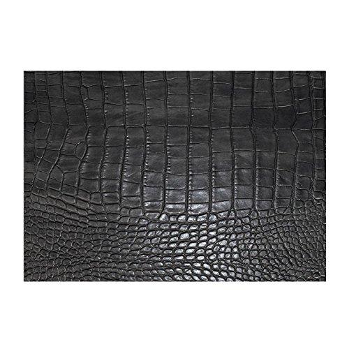 daff Gator Tisch Set, Leder, schwarz, 45cm -