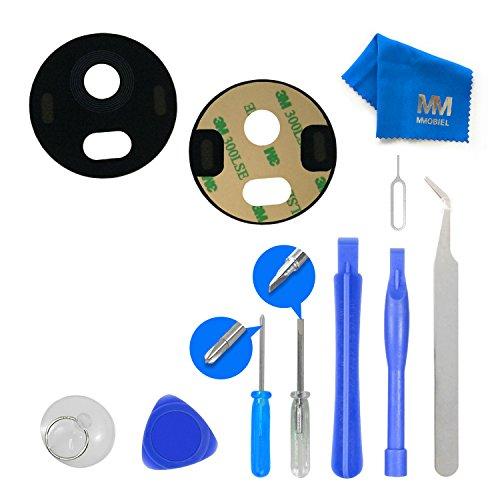 MMOBIEL® Reemplazo de Lente de Vidrio para cámara Trasera. Set Completo para Motorola Moto G5 Plus + Adhesivo pre-Instalado 3M + Kit de Herramientas Incl. Pinzas