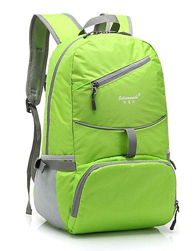 HWB/ 25 L Andere Camping & Wandern Draußen Multifunktions andere PU Leder / Oxford / Terylen Green