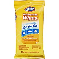 Clorox Disinfecting Wipes On The Go, Citrus Blend, 34 Count Pack