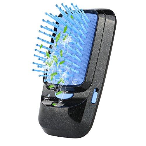 Broadcare spazzola professionale districante ionica per messa in piega con pettine per massaggiare il cuoio capelluto per uso giornaliero e in viaggio