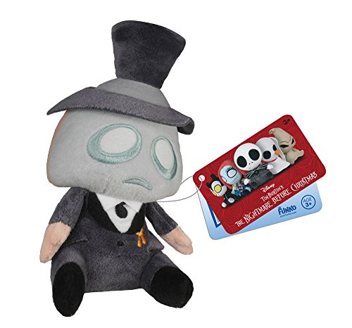 Nightmare Before Christmas Mopeez Plush Figure Mayor 12 cm