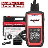 Autel MaxiCheck Pro Outils de Diagnostic Auto OBD2 Scanner avec Purge de Frein ABS, Réinitialisation d'Huile, SRS, SAS, EPB, BMS, DPF pour Véhicules Spécifiques