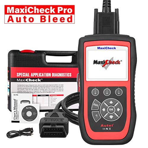 Autel MaxiCheck PRO Strumento Diagnostico OBD2 Scanner Auto con Bleed dell'ABS, Reset Olio, SRS, SAS, EPB, BMS, Dpf per Veicoli Specif
