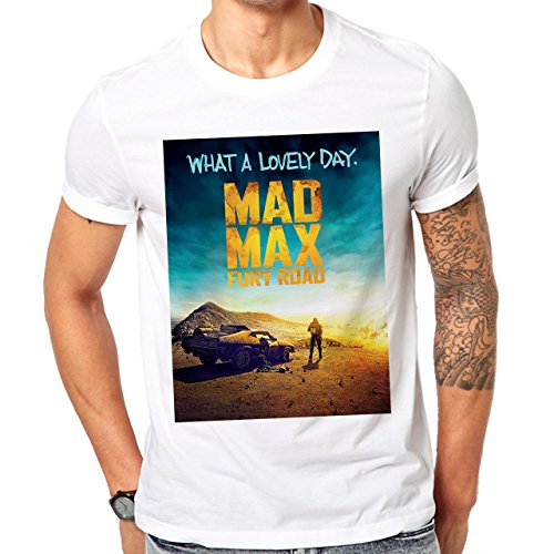 Mad Max Fury Road What A Lovely Day Cover Movie Herren T-Shirt Weiß