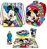 Mickey Mouse Topolino Disney in 3D zainetto Zaino, Sacca Sport, Porta Merenda Scuola Asilo Tempo Libero