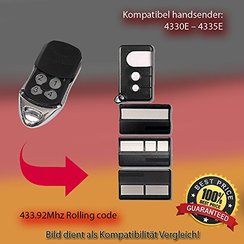 Handsender 433.92 MHz für 4330E - 4335E Antriebe Liftmaster Security Gate