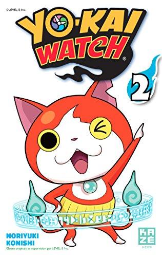 Yo-Kai Watch, Tome 2 : : Avec 5 stickers Yo-Kai Watch