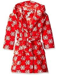 Hatley Mädchen Kleid Fleece Robe-Pretty Snowflakes