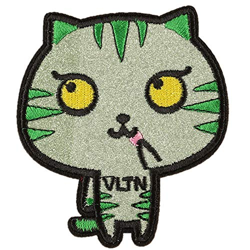 Kit Kostüm Für Erwachsene Liebe - Obctk Freies Verschiffen 5 Stücke Bügeln-Flecken-Flecken, DIY Geschenk-Tuch-Abzeichen-Stickerei-Flecken-Flecken, Katze Kostüm-Rucksack-Jacken-Jeans-T-Shirt, erwachsenes Kindergeschenk