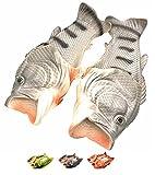 Lustige Hausschuhe Herren Schuhe Sommer Fisch Strand Unisex Kreative Kinder Tier Sandalen Dusche Anti-Rutsch Pantoffeln Coole Eva Besondere Stil,Schwarz,40.5/41.5 EU,43 CN Label Size
