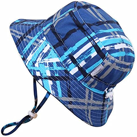 Kids 50+ UPF Sun Protection Bucket Hat With Chin Strap,