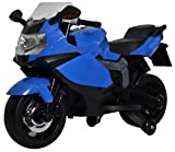 Best seller Posh Tots Kids High Quality imported Ride-On BMW like Bike with Interactive Features - Blue