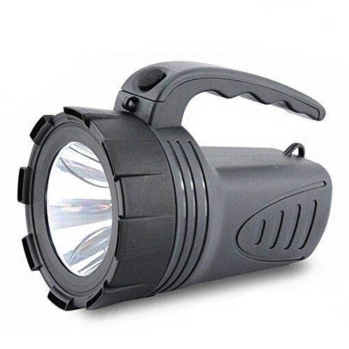 Viktion wasserdichte Handscheinwerfer Suchscheinwerfer wiederaufladbare Hochleistungs-LED für Jagd / Fischen / Camping / Wandern